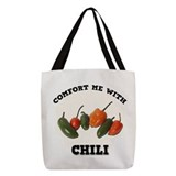 Chili peppers Polyester Tote Bag