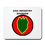 24TH INFANTRY DIVISION Mousepad