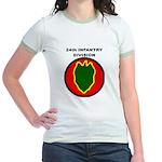 24TH INFANTRY DIVISION Jr. Ringer T-Shirt