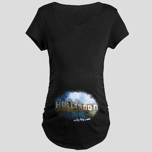 Only Big dot Me Maternity Dark T-Shirt