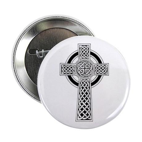 Celtic Cross 1 Button