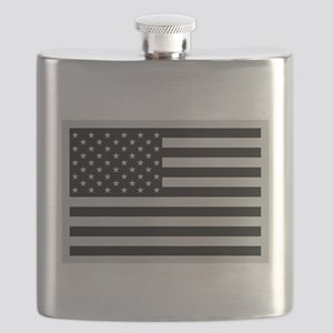 Subdued US Flag Tactical Flask