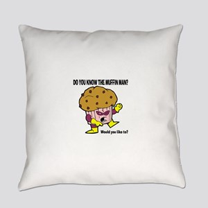 Muffin Man Everyday Pillow