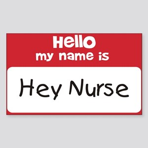 Hey Nurse Sticker
