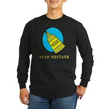 FIN-team-mustard Long Sleeve Dark T-Shirt