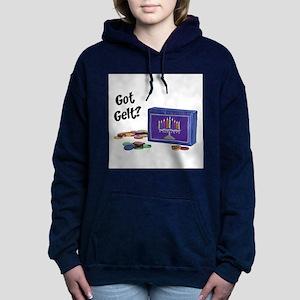 FIN-got-gelt Women's Hooded Sweatshirt