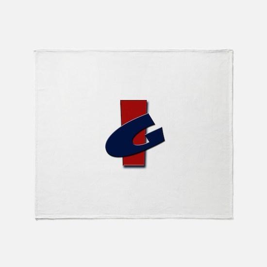 Irongoof Logo Throw Blanket