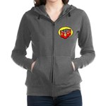 Father's Day Women's Zip Hoodie