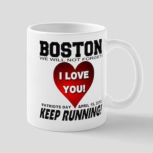 Boston Keep Running Mug