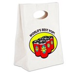 Father's Day Canvas Lunch Tote