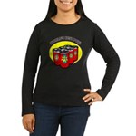 Father's Day Women's Long Sleeve Dark T-Shirt