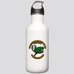 SOF - 5th SFG Dagger - DUI Stainless Water Bottle