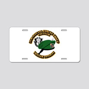 SOF - 5th SFG Dagger - DUI Aluminum License Plate