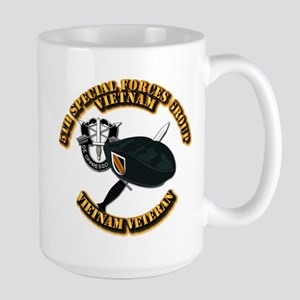 SOF - 5th SFG Dagger - DUI V2 Large Mug