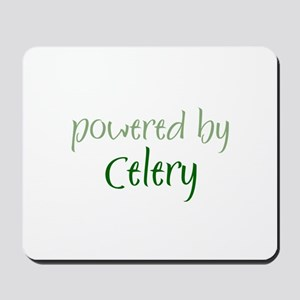 Powered By celery Mousepad