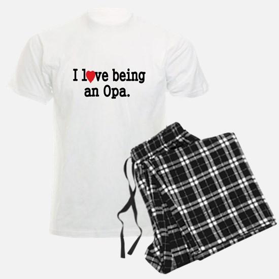 I love being an OPA Pajamas