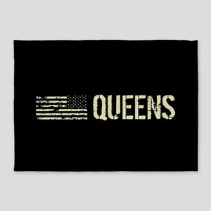 Black Flag: Queens 5'x7'Area Rug