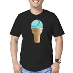 FIN-perfect-summer-... Men's Fitted T-Shirt (dark)