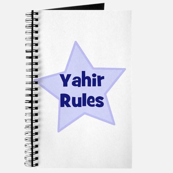 Yahir Rules Journal