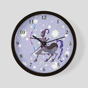 Starlight Sagittarius Wall Clock