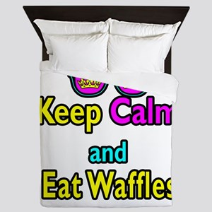 Crown Sunglasses Keep Calm And Eat Waffles Queen D
