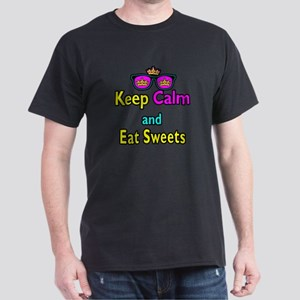Crown Sunglasses Keep Calm And Eat Sweets Dark T-S