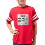 Funny Kitchen Quotes Youth Football Shirt