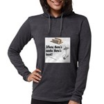 Funny Kitchen Quotes Womens Hooded Shirt