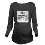 Funny Kitchen Quotes Long Sleeve Maternity T-Shirt