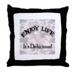 Funny Kitchen Quotes Throw Pillow
