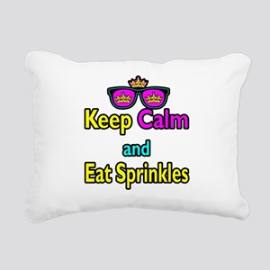 Crown Sunglasses Keep Calm And Eat Sprinkles Recta
