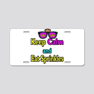 Crown Sunglasses Keep Calm And Eat Sprinkles Alumi