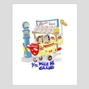 1/2 MILE-HI CLUB Small Poster