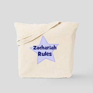 Zachariah Rules Tote Bag