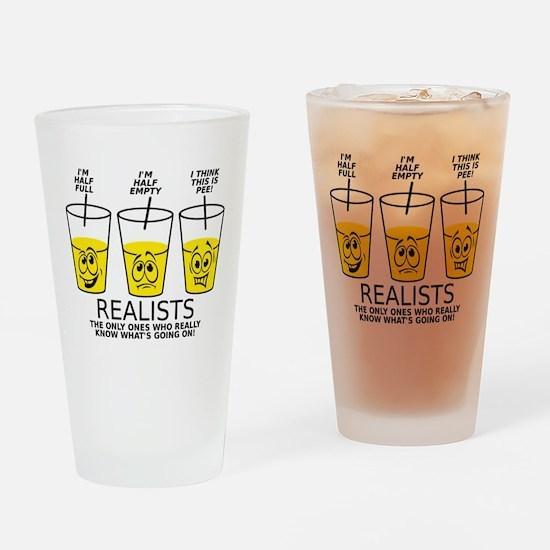 Glass Half Full Empty Pee Funny T-Shirt Drinking G