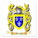Brough Square Car Magnet 3