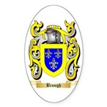 Brough Sticker (Oval)