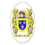 Brough Sticker (Oval 10 pk)