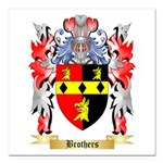 Brothers Square Car Magnet 3
