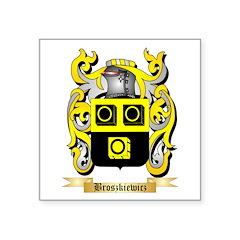 Broszkiewicz Square Sticker 3
