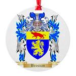 Brosnan Round Ornament
