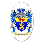 Brosnan Sticker (Oval)