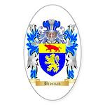 Brosnan Sticker (Oval 50 pk)
