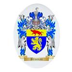 Brosnan Ornament (Oval)