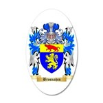 Brosnahin 35x21 Oval Wall Decal