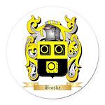 Broske Round Car Magnet