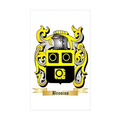 Brosius Sticker (Rectangle 10 pk)