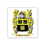 Broseman Square Sticker 3