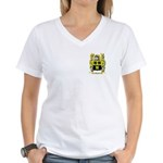 Brosel Women's V-Neck T-Shirt