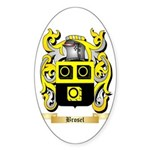 Brosel Sticker (Oval 10 pk)